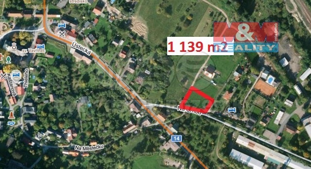 Prodej, stavební pozemek, 1139 m2, Potštejn