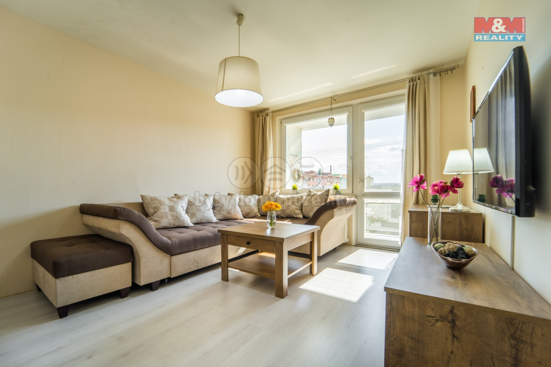 Prodej, byt 3+1, 67 m2, OV, Podbořany, ul. Sídliště Míru