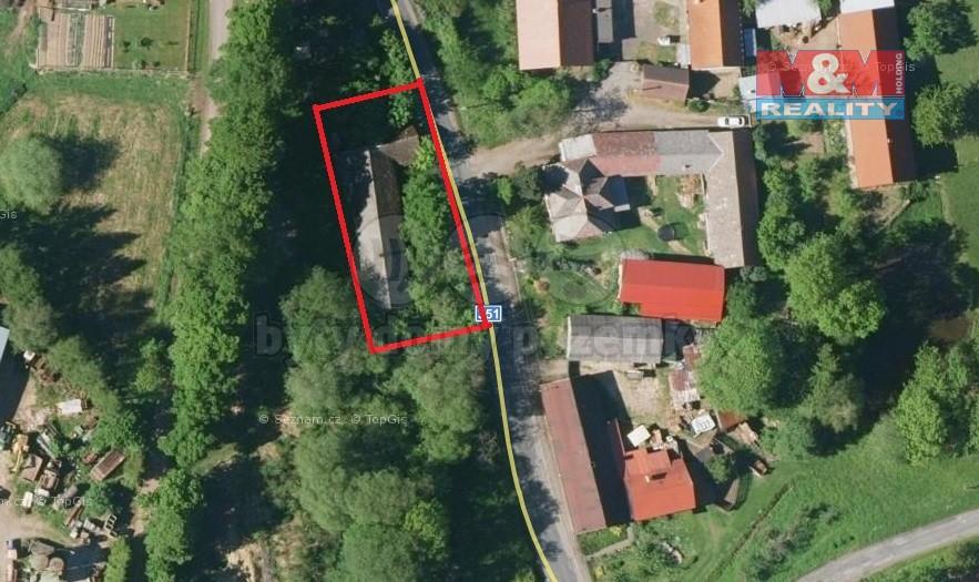 Prodej, pozemek, 824 m2, Chotěboř - Počátky
