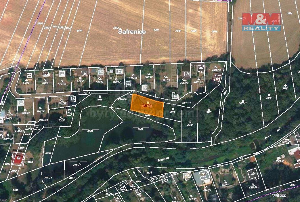 Prodej, louka, 403 m2, Holešov-Dobrotice