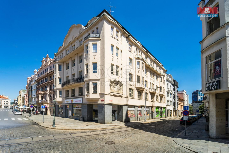 Pronájem, kancelářské prostory, 153 m2, Plzeň - Náměstí