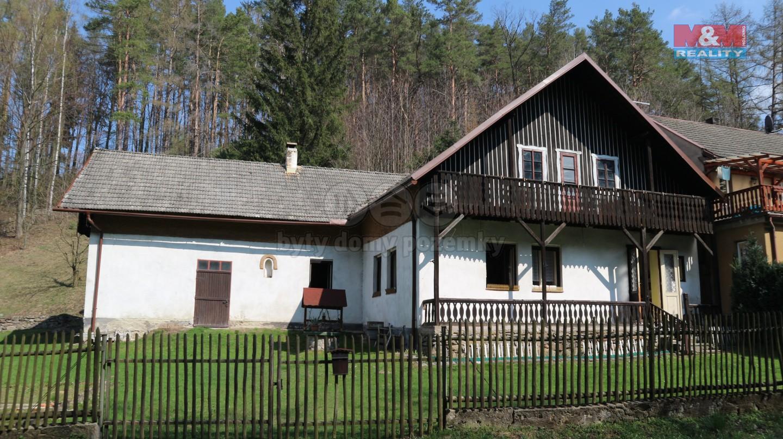 Prodej, chalupa 3+kk, 1828 m², Česká Rybná