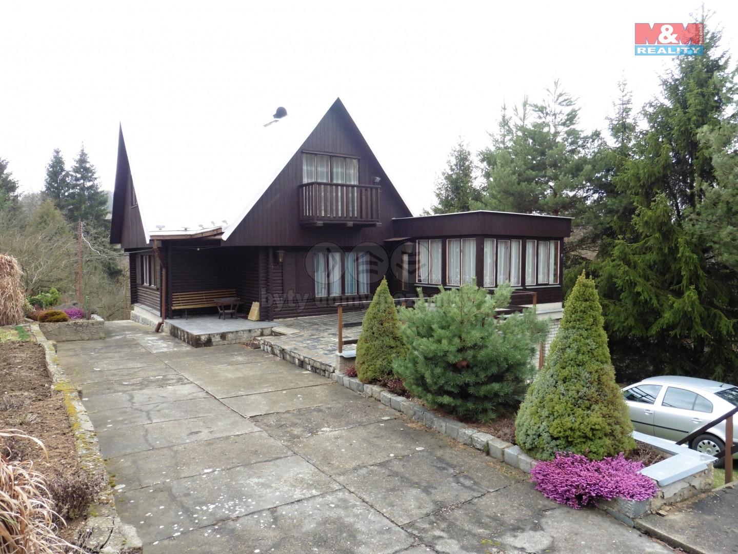 Pohled na chatu (Prodej, chata 6+1, 178 m2, Mnichovice), foto 1/30