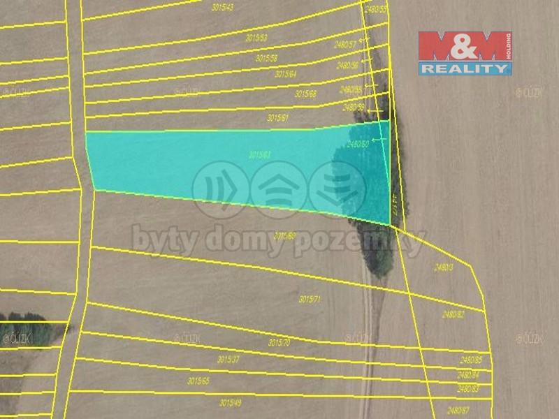 Prodej, pole, 3990 m2, Kněžpole