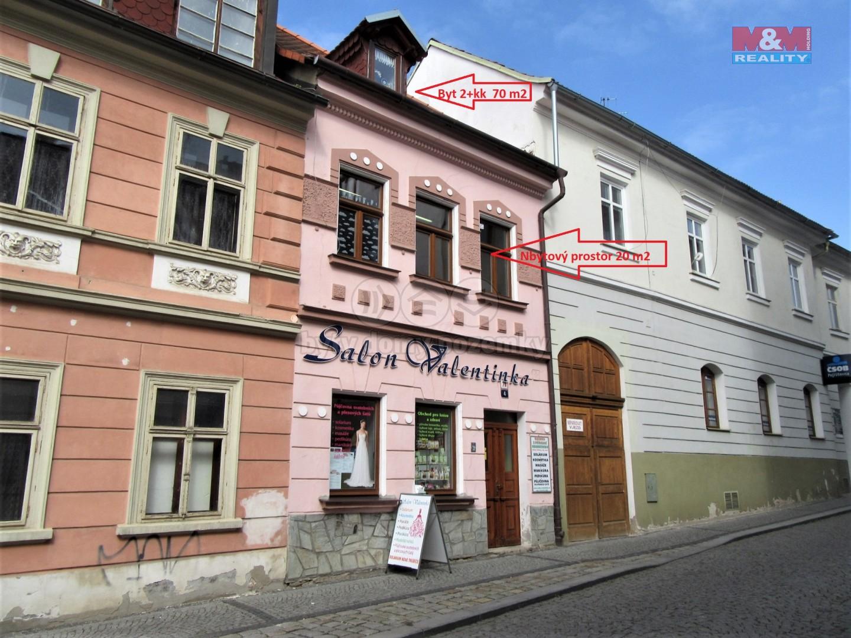 Podnájem, byt 2+kk, 70m2, nebytový prostor, 20m2, Česká Lípa