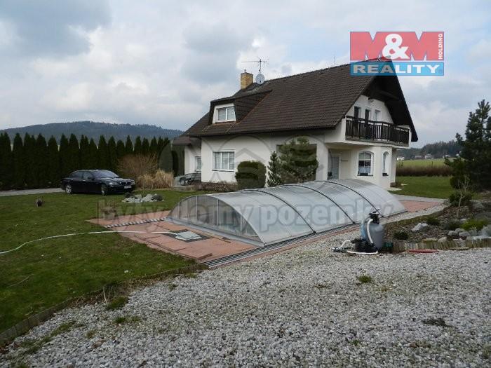 Prodej, rodinný dům 7+1, 999 m2, Dobřív - Rokycany
