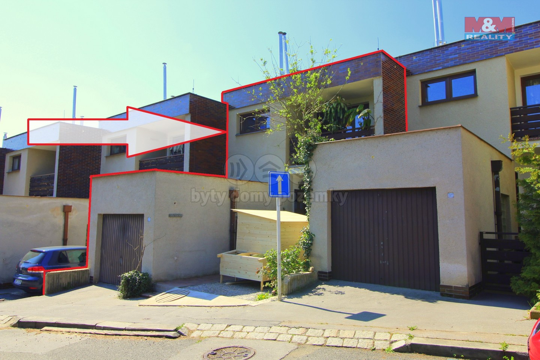 Prodej, rodinný dům 4+1, 200 m2, Praha, ul. Slavická