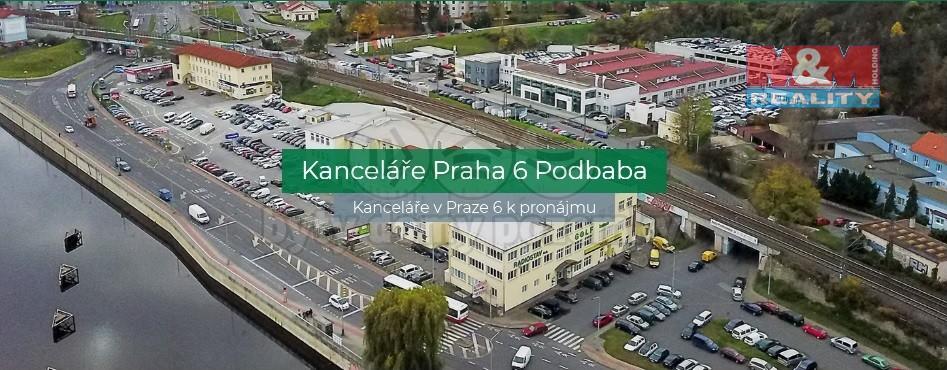 (Pronájem, kancelářské prostory, 64 m2, Praha 6 - Bubeneč), foto 1/8