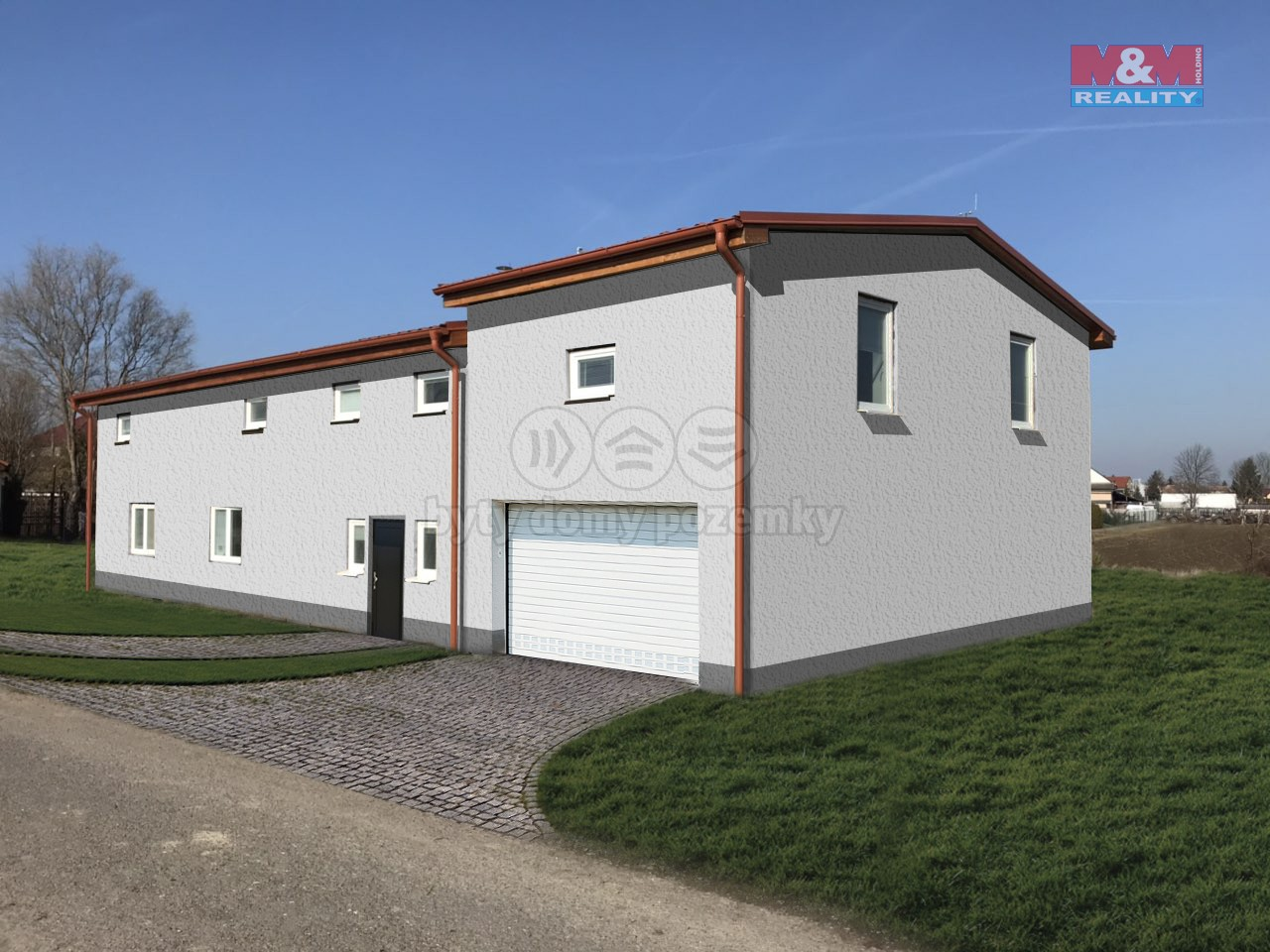 Prodej, rodinný dům 4+kk, 1387 m2, Tuněchody