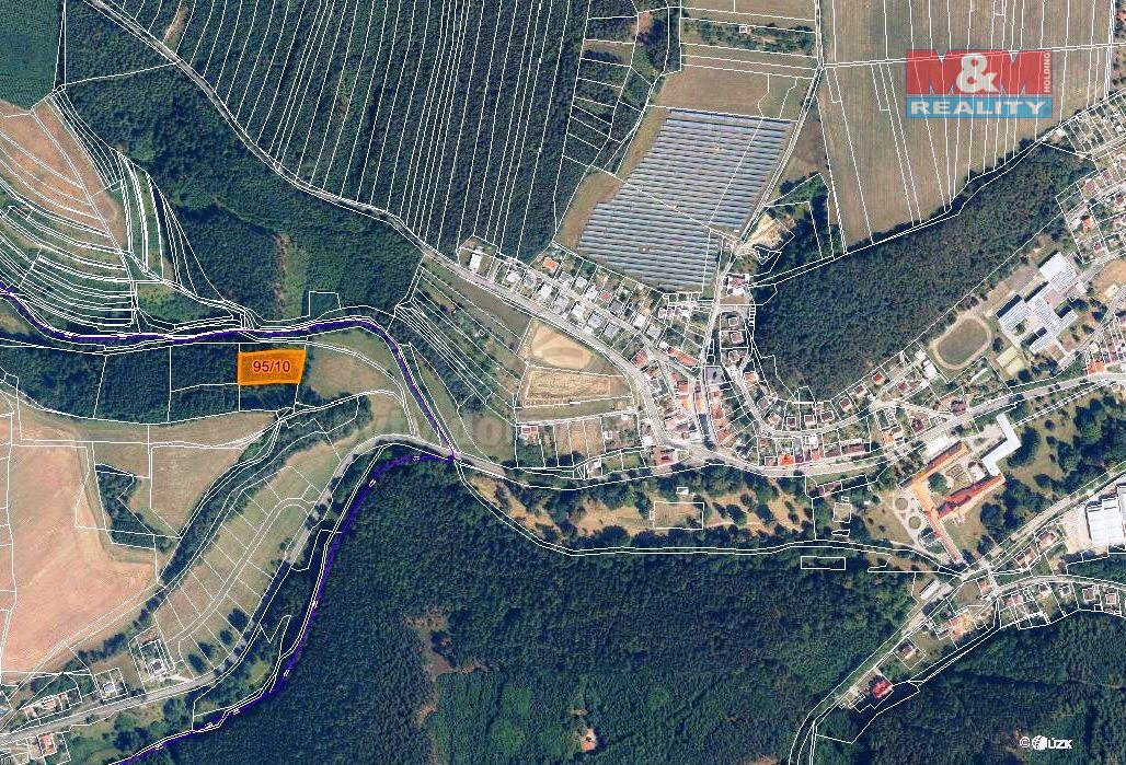 Prodej, les, 2625 m2, Malá Roudka-Skočova Lhota