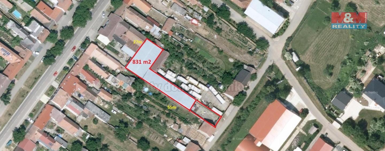 Pronájem, komerční prostory, 831 m2, Sudoměřice