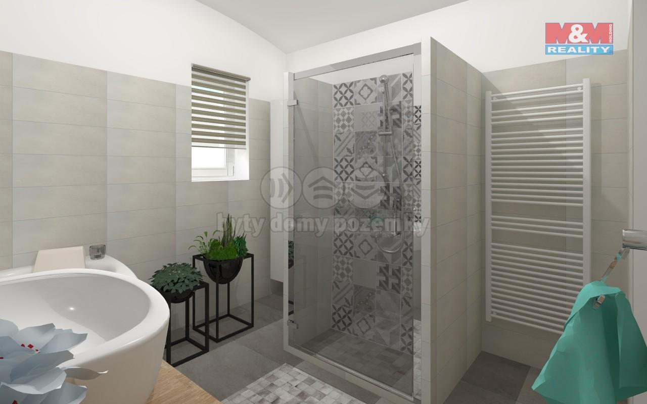 vizualizace - koupelna