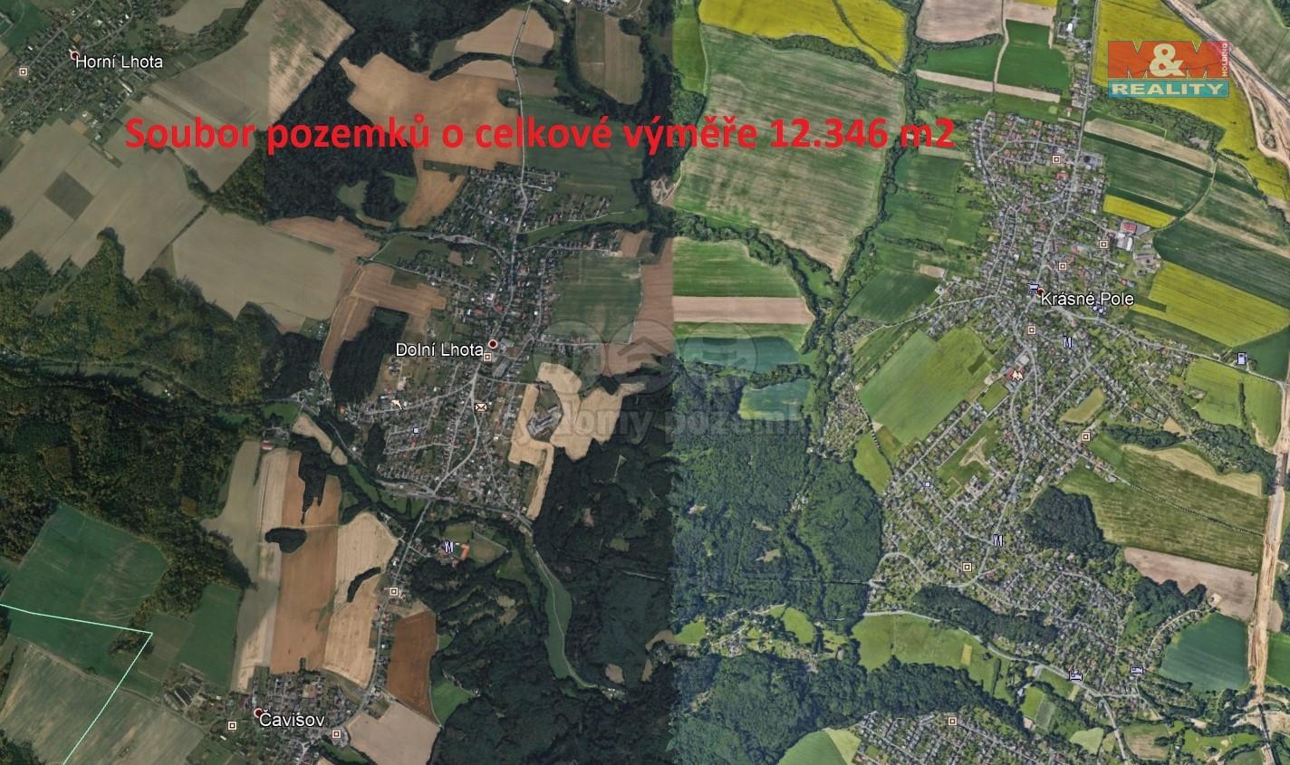 Prodej, pole, 12346 m2, Dolní Lhota u Ostravy