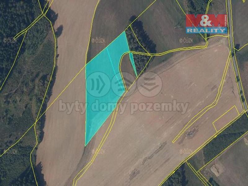 Prodej, pozemek, 20628 m2, Dolní Dobrouč