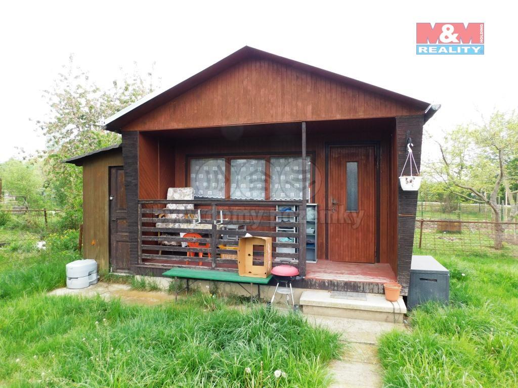 Prodej, zahrada 348 m2, zahradní domek, Libočanská Žatec