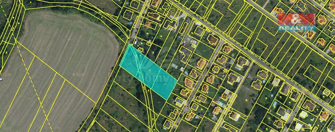 Prodej,St.pozemek 4702m2, Újezd nad Lesy