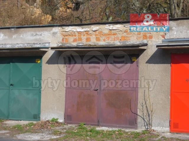 Prodej, garáž, 25 m2, Děčín, ul. Saská