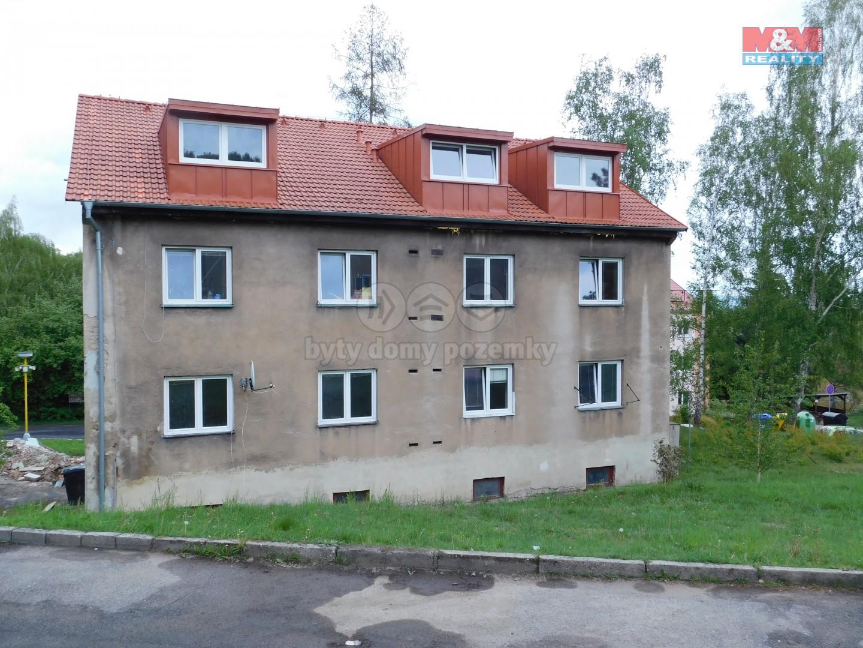 Podnájem, garsonka, 20 m2, OV, Loučná u Lomu, ul. Novostavby