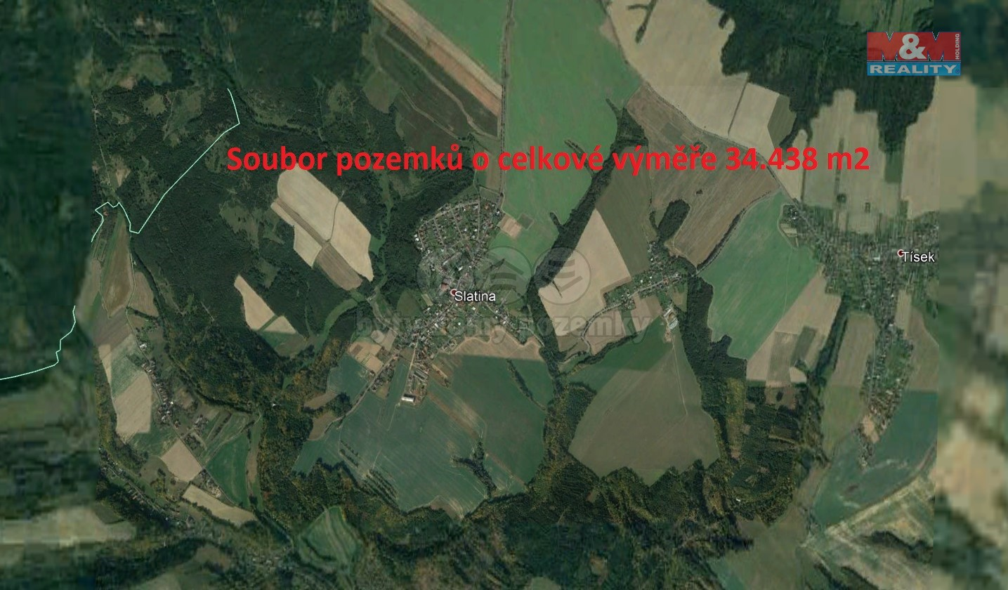 Pozemek zemědělský na prodej, Slatina