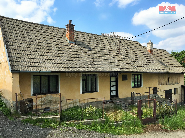Prodej, rodinný dům 2+1, 609 m2, Újezd u Kunštátu