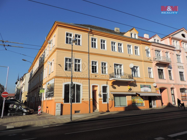 Pronájem, Byt 1+kk, 25 m2, OV, Teplice, ul. U Nádraží