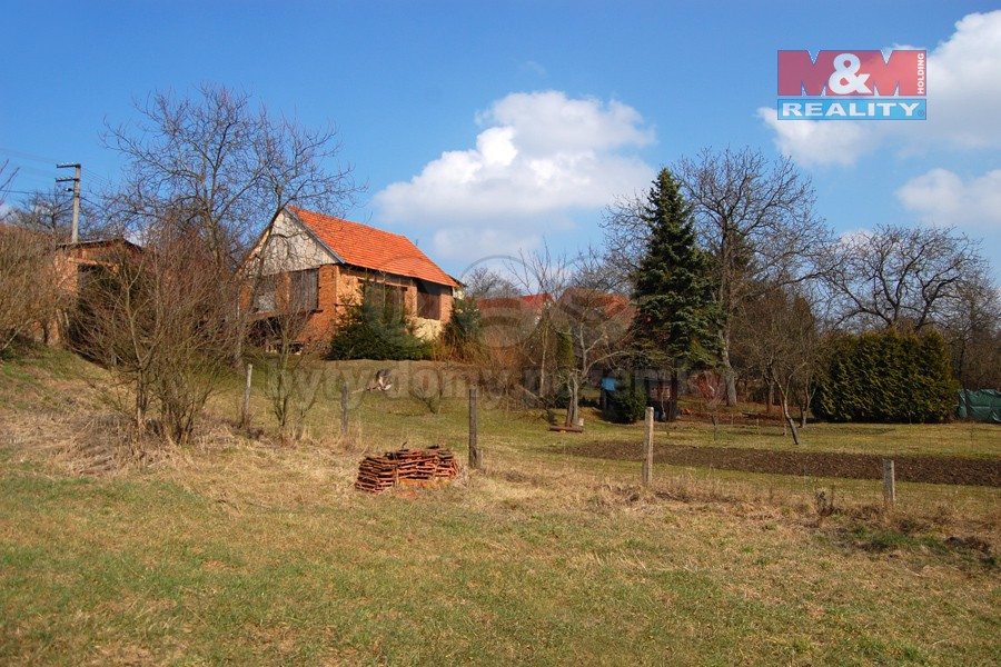 (Garden for rent, 200 m2, Kroměříž, Litenčice)