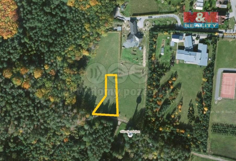 Prodej, stavební pozemek, 1060 m2, Býšť - Hoděšovice