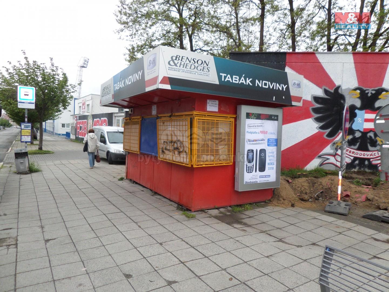 Prodej, stánek, Brno, ul. Srbská