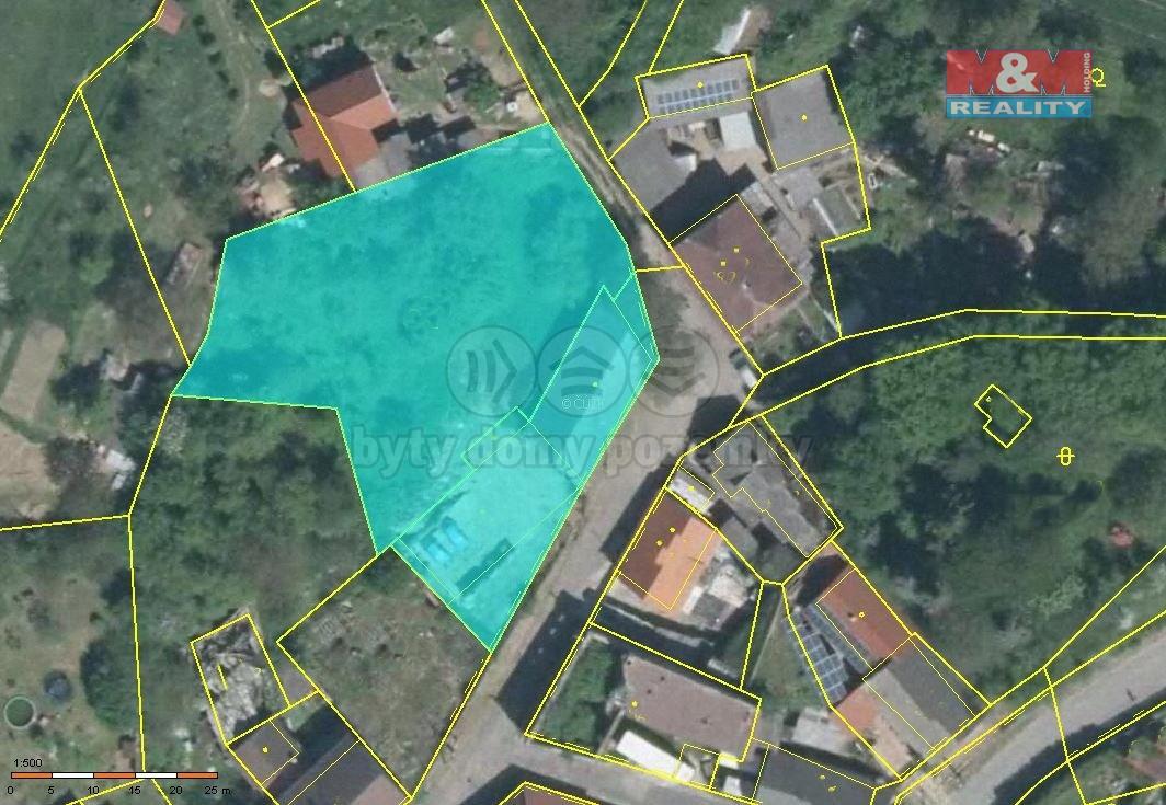 Prodej, stavební pozemek, 2.094 m2, Mšeno