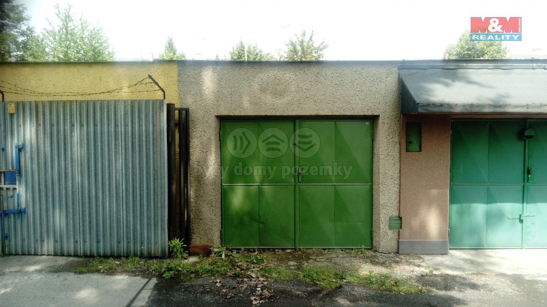 Prodej, garáž, 21m2, Ostrava, ul. Gajdošová