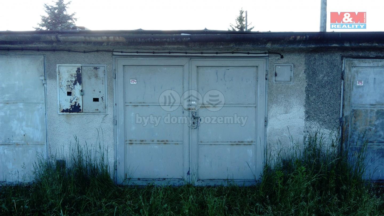 Prodej, garáž, 24 m2, Ostrava, ul. Kramolišová