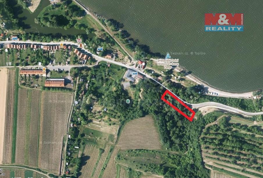 Prodej, pozemek, 537 m2, Dolní Věstonice
