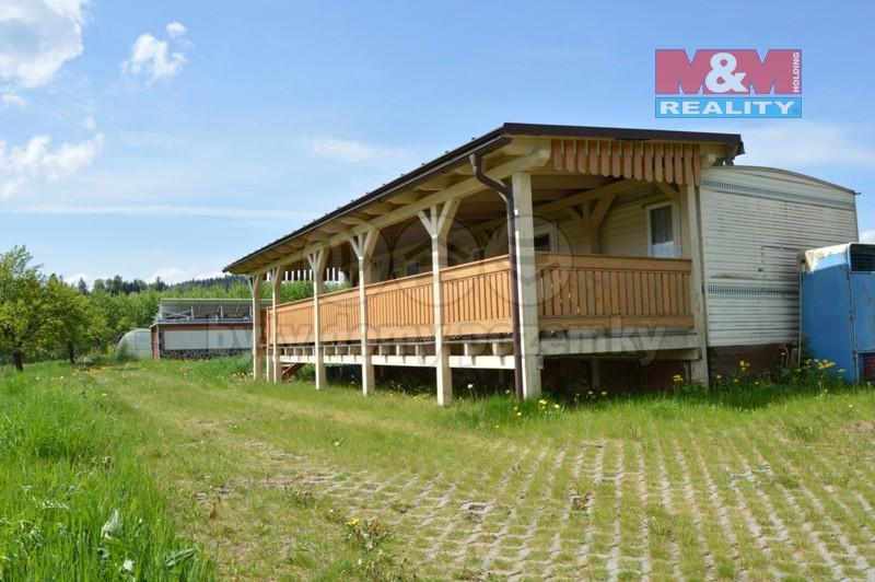 Prodej, chata 3+1, 1200 m2, Bukovec