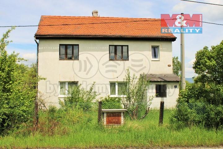 Prodej, rodinný dům 4+1, 1446 m2, Mírová
