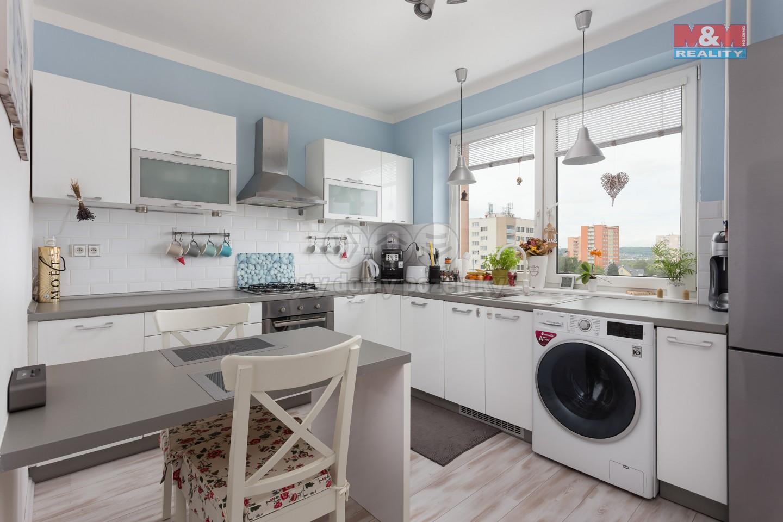 Prodej, byt 3+1, 79 m2, Ostrava, ul. Mojmírovců, garáž