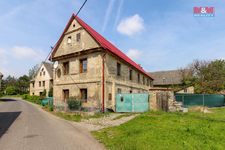 Prodej, rodinný dům 5+1, 320 m2, Hoštka - Velešice