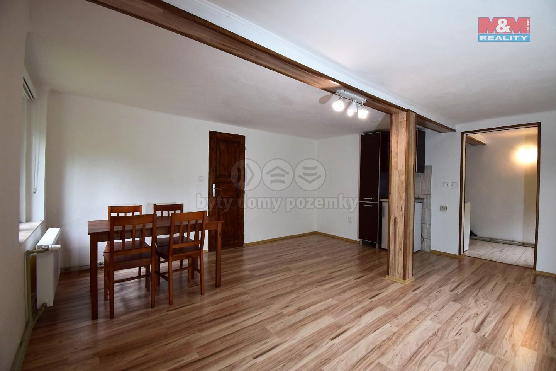 Pronájem, byt 1+1, 40 m2, Skuhrov nad Bělou