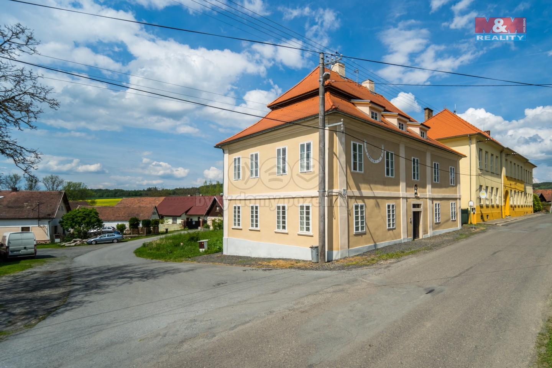 Prodej, fara, bytový dům, 594 m2, Kbel