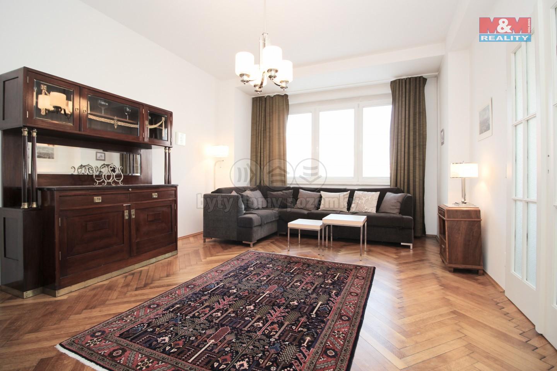 Pronájem, byt 3+1, Praha 1, ul. Petrská