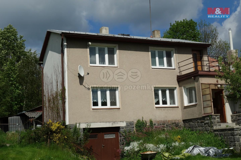 Prodej, rodinný dům 3+1, 1196 m2, Horní Bradlo