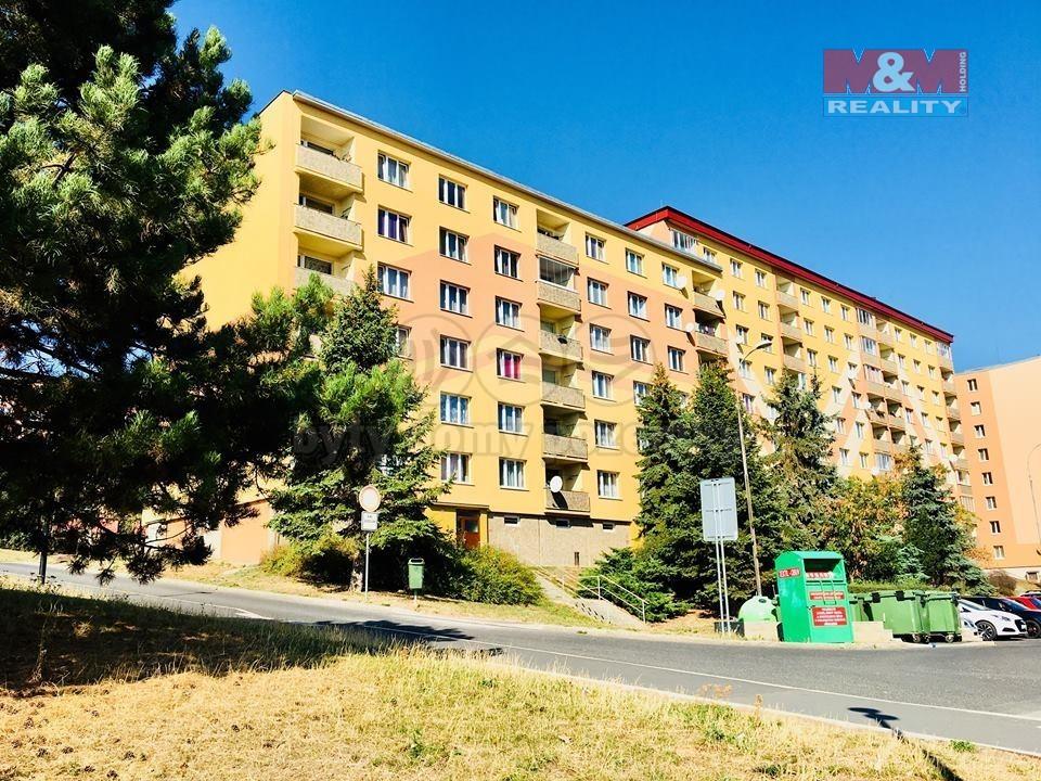 Pronájem, byt 1+1, 36 m2, DV, Chomutov, ul. Skalková