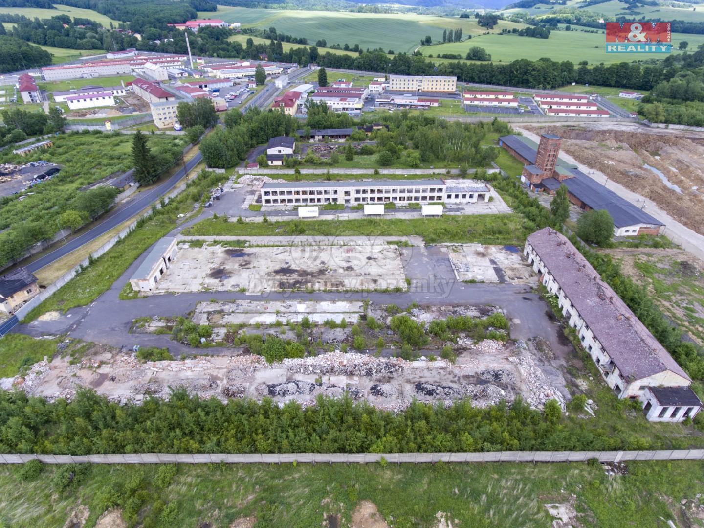 Prodej, provozní plocha 24.622 m2, Ostrov, Dolní Žďár