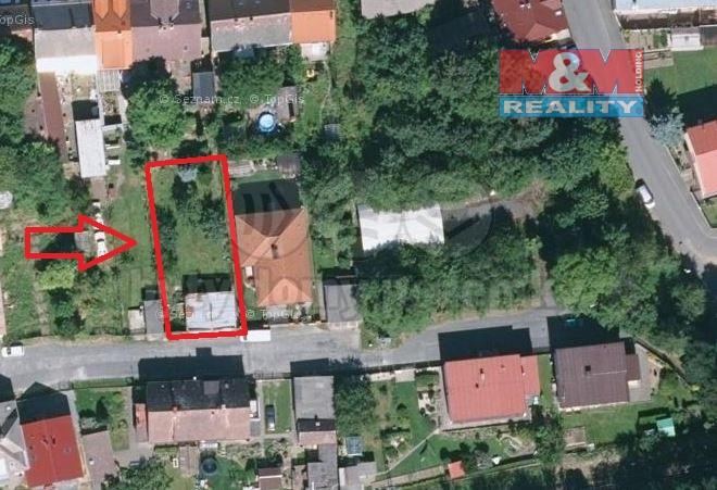 Prodej, stavební parcela, 558 m2, Domažlice