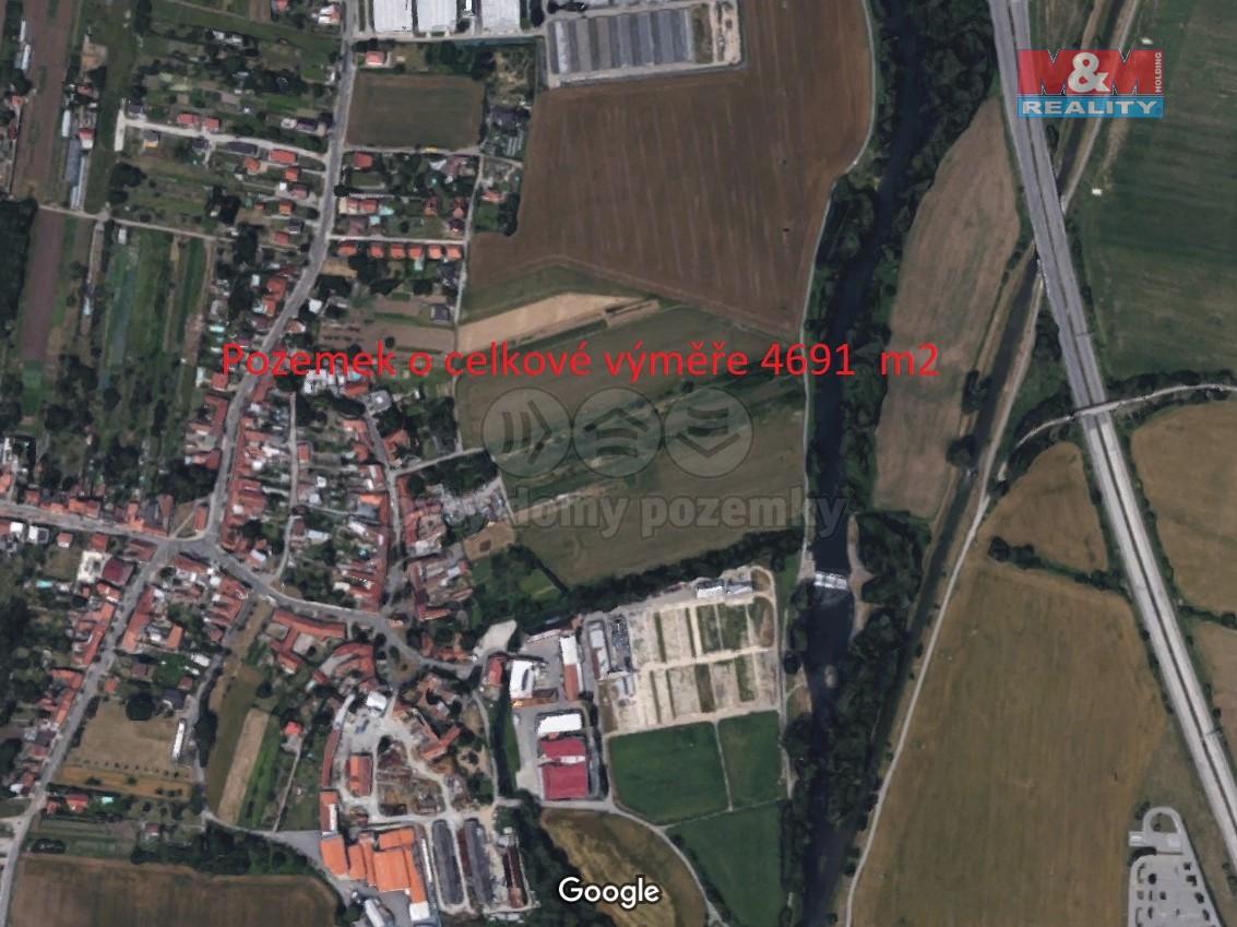 Prodej, pozemek, 4691 m2, Brno - Přízřenice