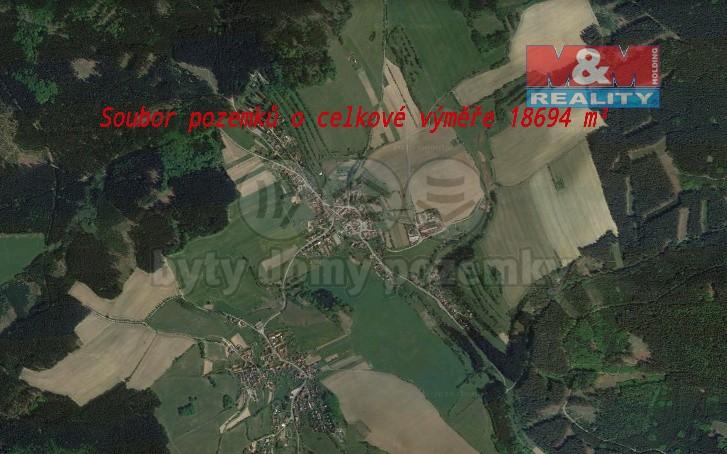 Prodej, les, 18694 m2, Brumov u Lomnice