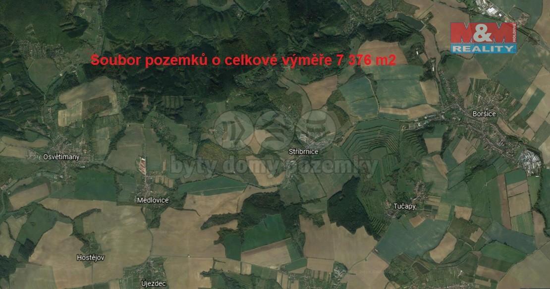 Prodej, vinice, 7376 m2, Stříbrnice u Uherského Hradiště