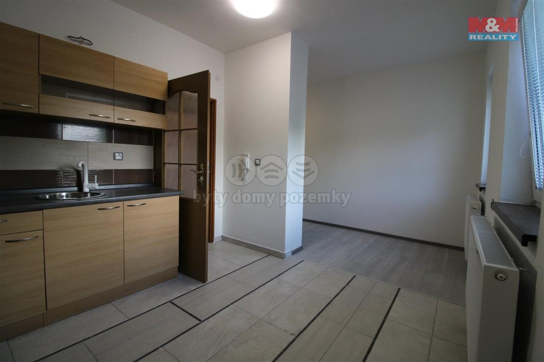 Pronájem, byt 1+kk, 21 m2, Tetčice
