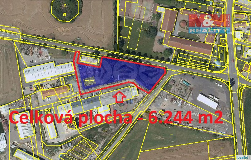 Prodej, pozemek, 6244 m2, Pardubice - Dražkovice