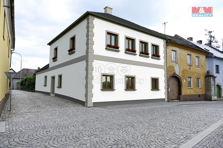 Prodej, rodinný dům, 426 m², Mohelnice, ul. Hradební