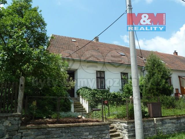 Prodej, rodinný dům 2+1, Olešnice, ul. Moravská Strana